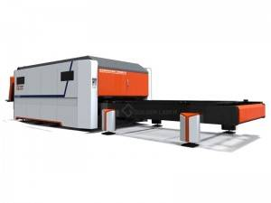 1000W 1500W 2000W 3000W 4000W Fiber Laser Cutting Machine bo deşta Metal