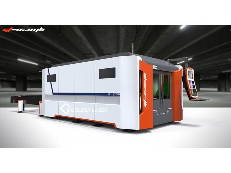 1000W Closed Type Fiber Laser Cutting Machine