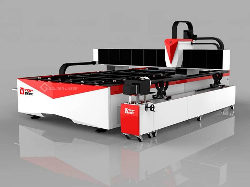 1000W Fiber Laser Cutting Machine for Metal Sheet and Tube