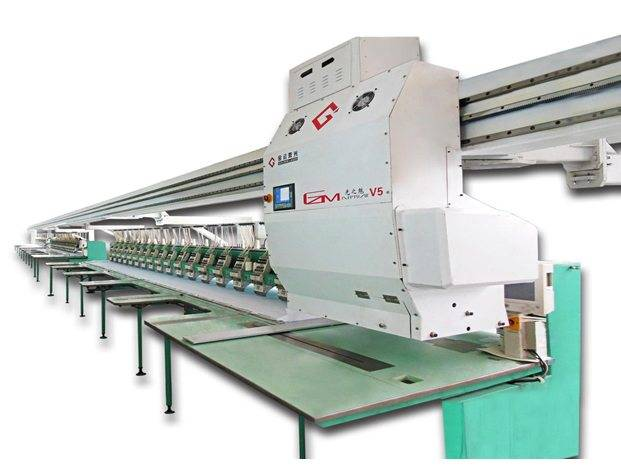 High quality factory Bridge Laser Embroidery Machine for Brasilia Manufacturers detail pictures