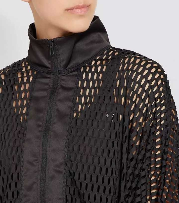 laser cut-out apparel