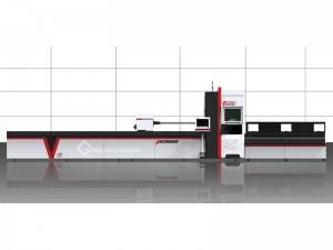 1KW Fiber Laser Pipe Cutting Machine