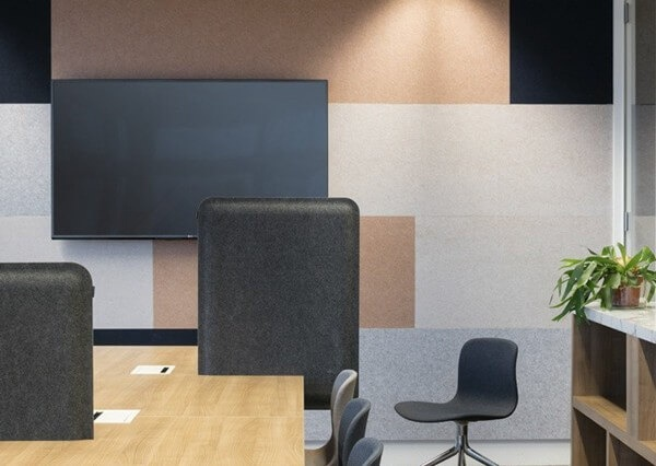 Laser cut sound insulation felts to bring quiet to the office