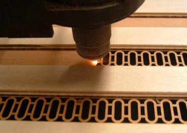 New Vitality of Wood by Laser Cutting