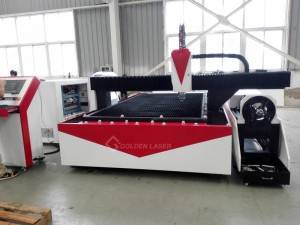 500W Fibre Laser Cutting Machine for Metal Sheet and Tube