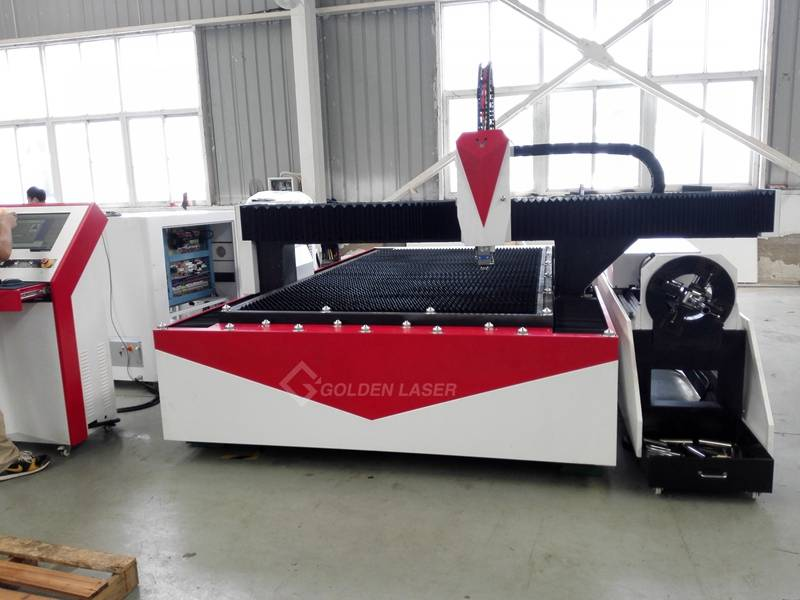 Fibre Laser Cutting Machine for Metal Sheet and Tube