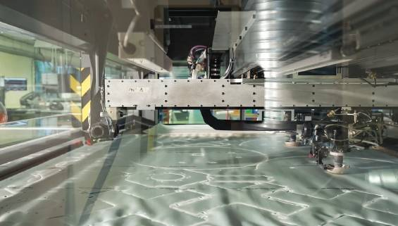 A new generation of laser cutting equipment for airbag
