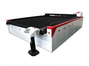 Auto CO2 d'alimentation machine laser Cutter pour textile Rembourrage