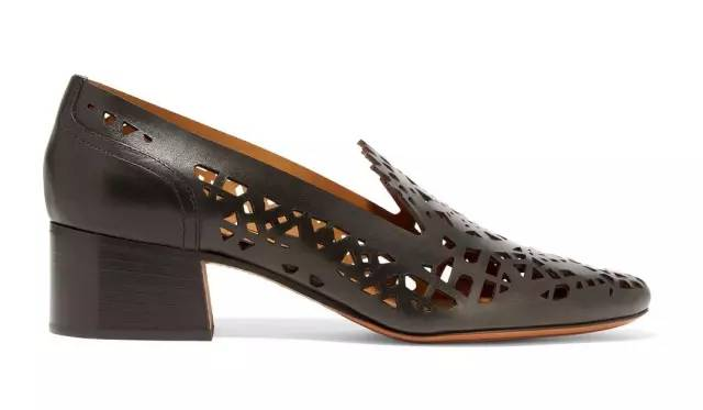 CHLOÉ - Pumps of Laser Cut Leather