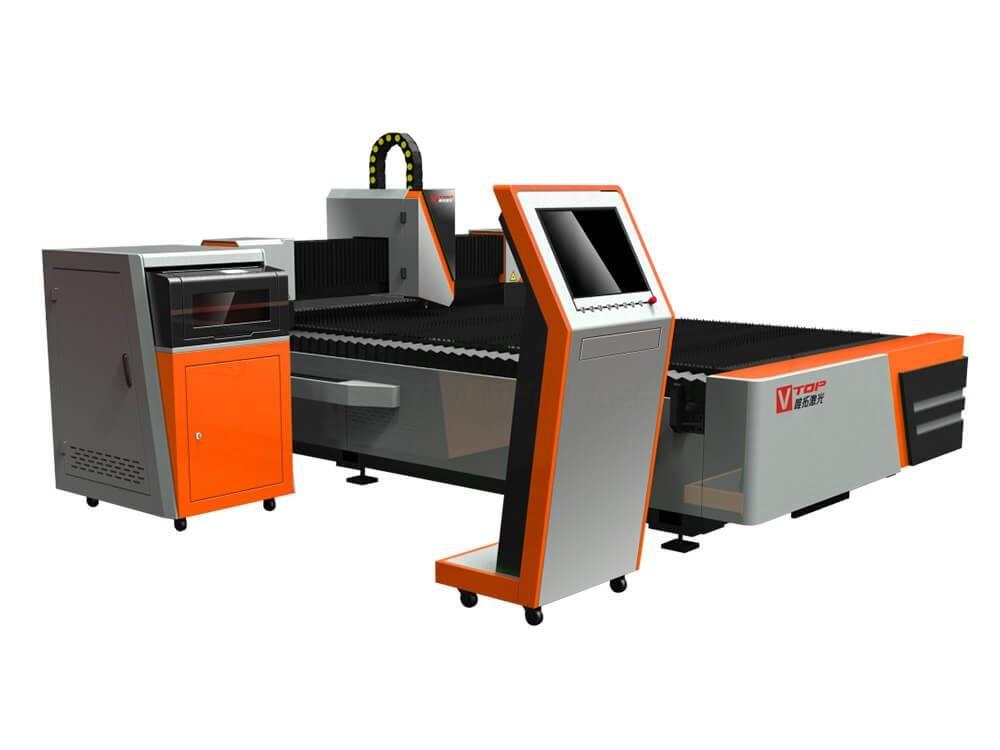 CNC валаконны лазер для рэзкі ліставога металу для GF1530