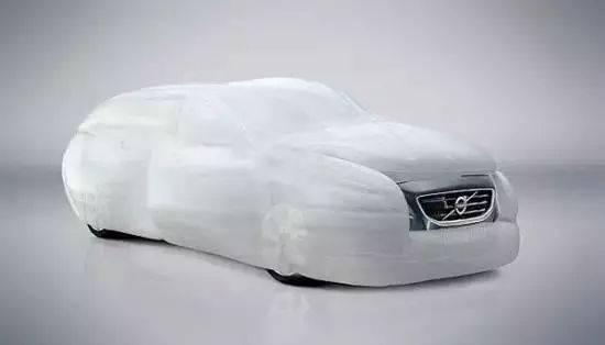 Concept car airbag design