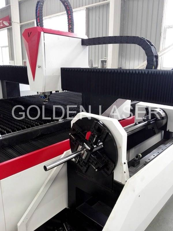 Dual Fiber Laser Sheet Metal and Tube Cutting Machine