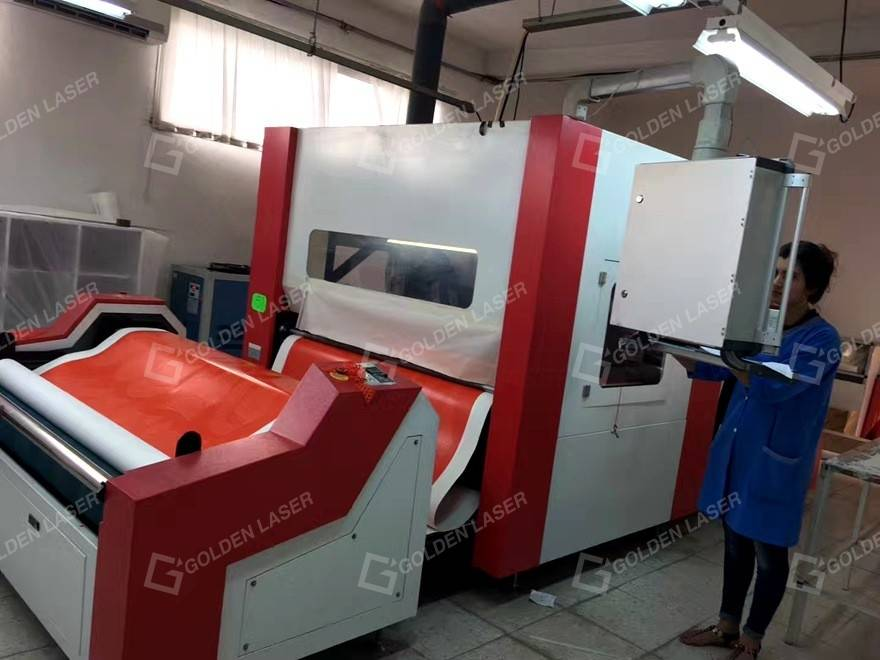 GOLDEN LASER high-end applications in printing apparel industry–kiss cut 1