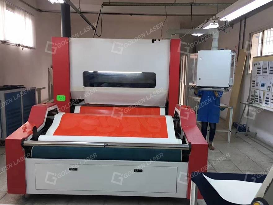 GOLDEN LASER high-end applications in printing apparel industry–kiss cut 2