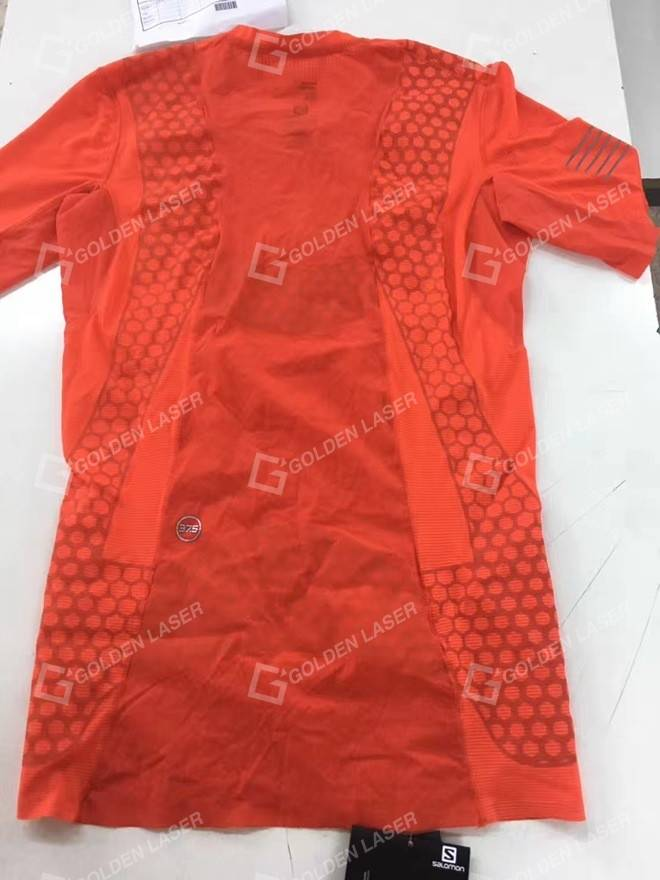 GOLDEN LASER high-end applications in printing apparel industry–kiss cut 5