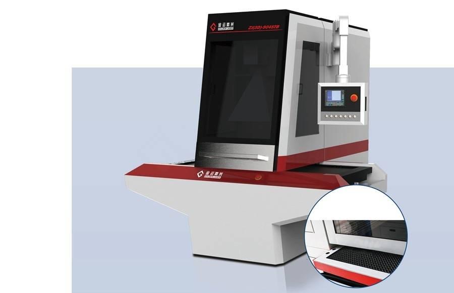 Galvo laser engraving system