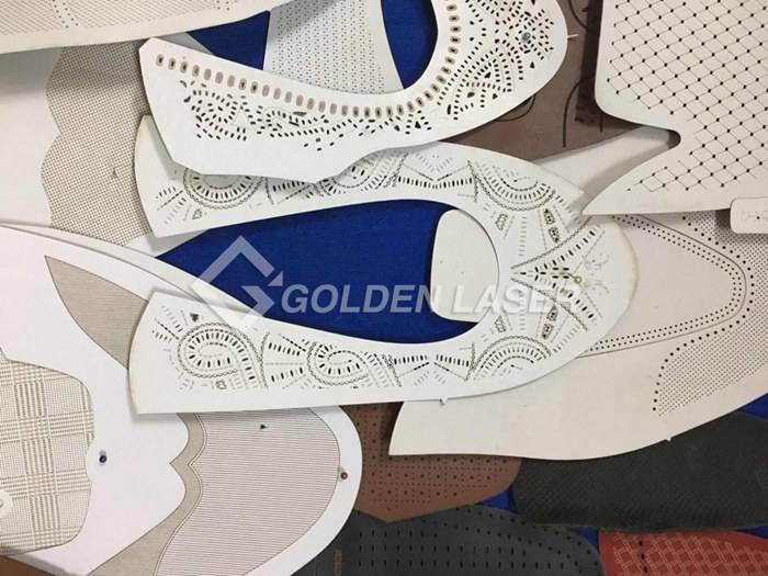Galvo laser for leather shoes