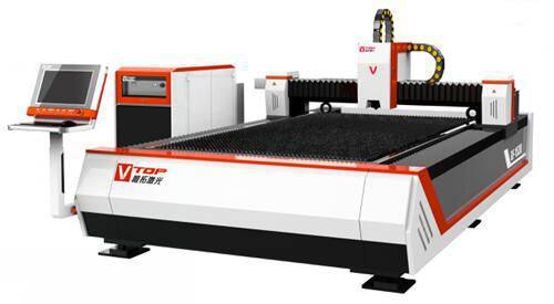 High Speed Single Mode Fiber Lazer Metal Cutting Machine