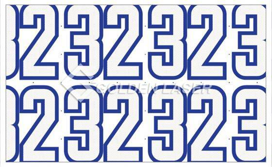 How to Make Digital Printed Numbers 2
