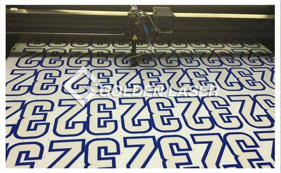 How to Make Digital Printed Numbers 4
