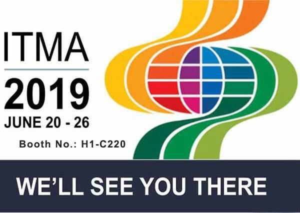 ITMA 2019, we will see you there.