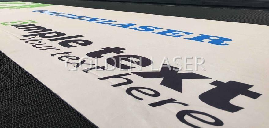 Laser Cutting Banner