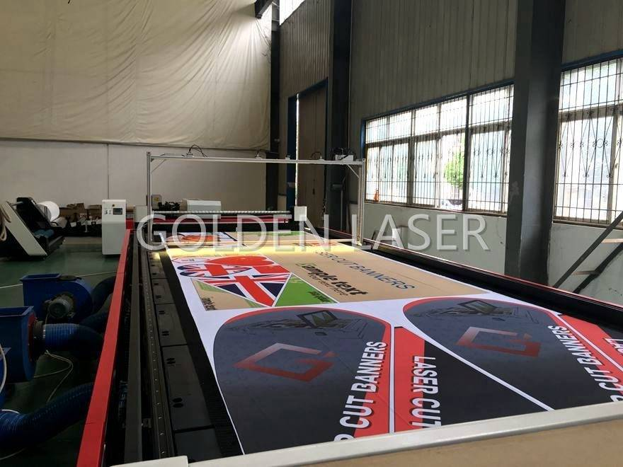Laser Cutting Flags Banners Soft Signage