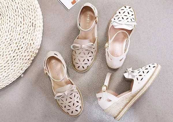 Laser-cut fashion sandals keep you cool all summer