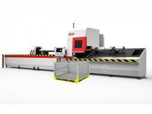 Metal Pipe and Tube Fiber Laser Cutting Machine