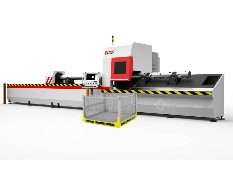 Birta Tuuboyinka Iyo Tube Fiber Laser Goynta Machine