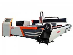 Taflen Metel a Tube Cutting Machine Laser Fiber
