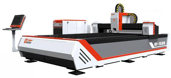 Open Type Fiber Lazer Metal Scherpe Machine