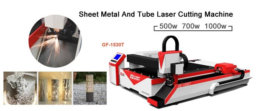 Sheet and Tube Fiber Laser Cutter GF-1530T