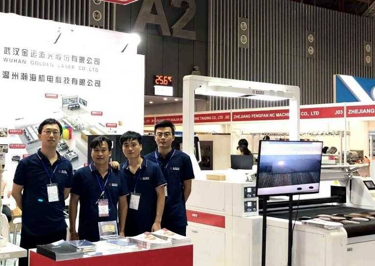 Focus on Shoes & Leather Vietnam 2019, see Golden Laser Machines Shine!