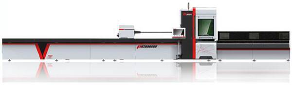 Smart Fiber Lazer Tube Mòna Machine