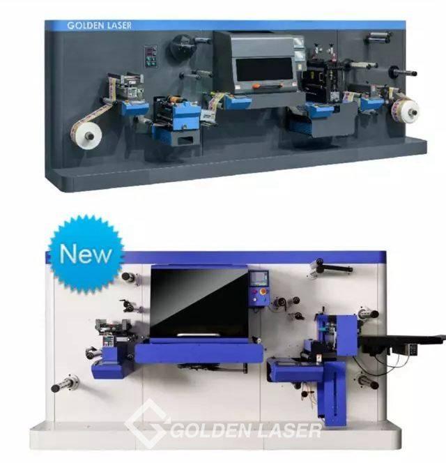 adhesive label laser die cutting machine