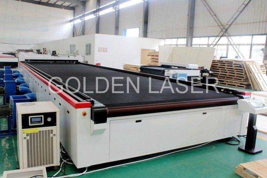 aircraft carpet cutting laser machine CJG-2101100LD