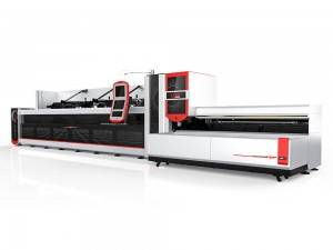 Automatica fasciu Loader Fiber Laser Pipe Cutting Machine