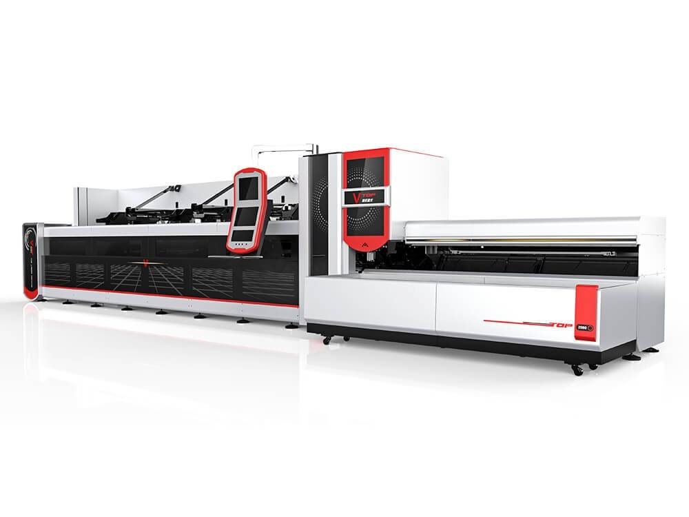 automatic bundle loader tube laser cutting machine