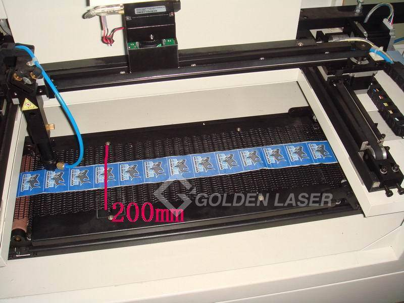automatic laser cutting roll label