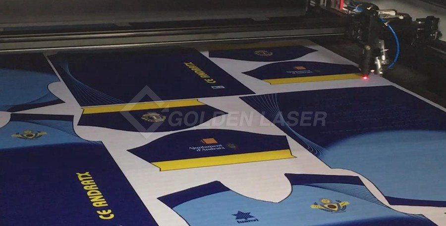 laser cutting sportswear