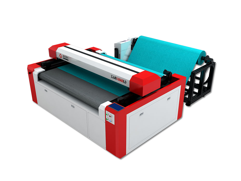 co2 galvo laser cutting and marking machine with camera