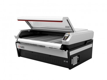 Single Head / Double Head Laser Cutter with Conveyor Belt