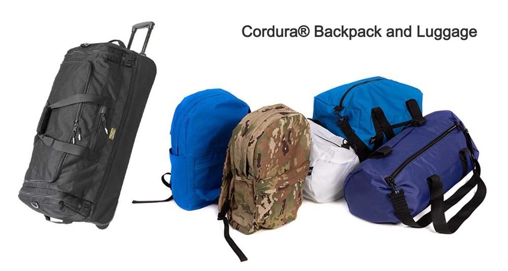 cordura backpack and luggage