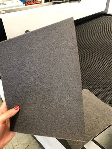 cut rectangle sandpaper 500