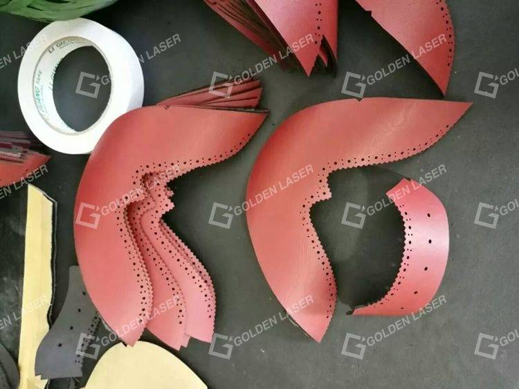 dual head laser cutting leather 2
