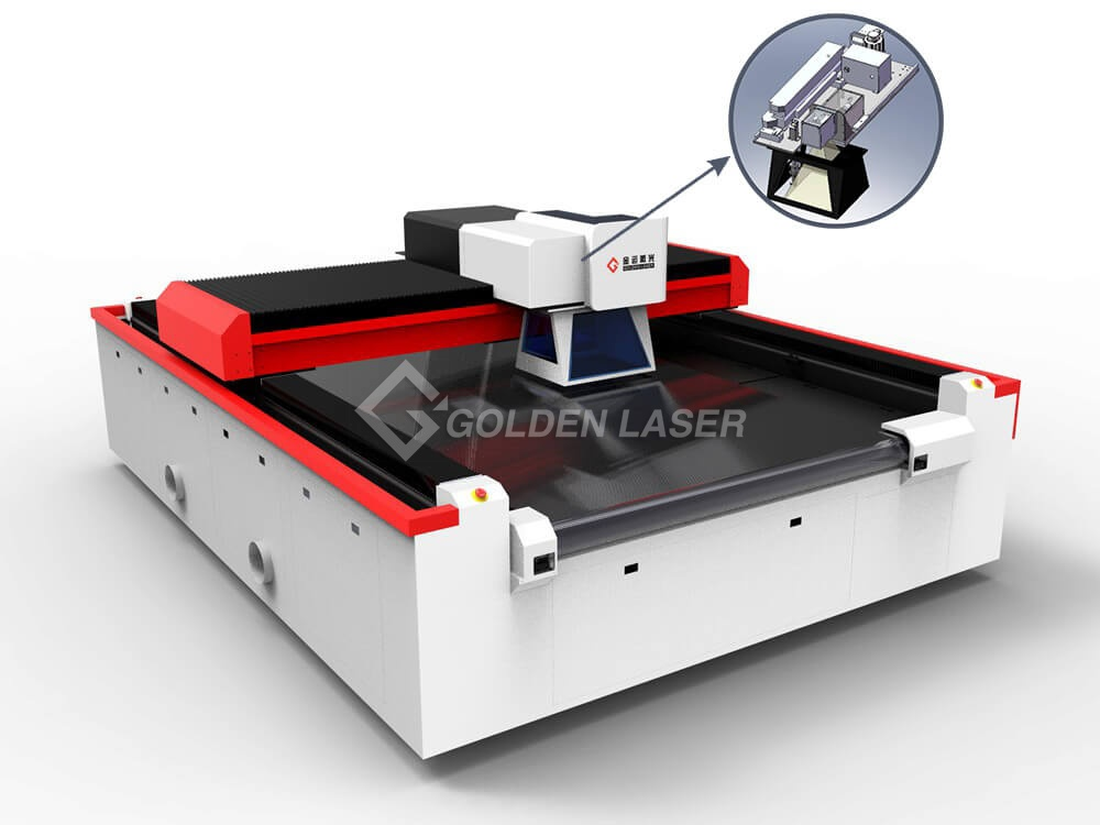 textile duct laser cutting machine