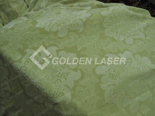 fabric laser engraving
