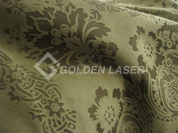 fabrics laser engraving