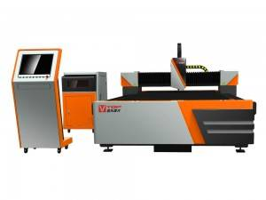 1500W Fiber Laser Machine Cutting di Metal